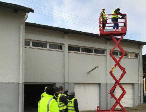 Ausbildung zum Hubarbeitsbühnenbediener